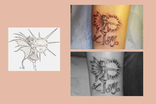 2010 04 tatouage f e et soleil. Black Bedroom Furniture Sets. Home Design Ideas